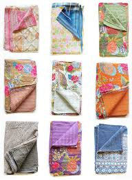 Loving... Kantha Quilts & ... Kantha Quilts. I'm in love! They've got me written all over them –  floral, bright, unique, handmade… wouldn't they be a great way to bring  some colour ... Adamdwight.com