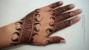 Latest Simple Arabic Mehndi Designs For Hands 2015 Video Dailymotion