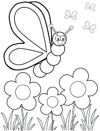 Printable Spring Coloring Pages Spring Coloring Pages Odd Free