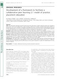 pdf innovative model for clinical education