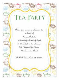tea party templates tea party invitations template 200 fully customizable tea party