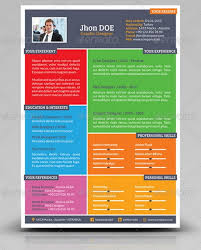Colorful Resume Templates Beauteous 40 Greatest Resume Templates 4040