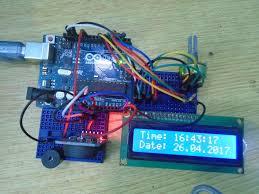 finished arduino alarm clock jpg