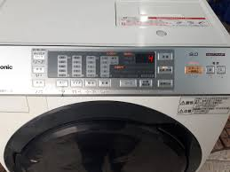 Máy giặt PANASONIC NA-VX3300L giặt 9kg sấy Block 6kg đời 2014 Màu trắng -  chodocu.com