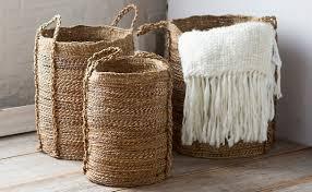 Ecofriendly furniture Contemporary Bark Burlap Baskets Fumbling Towards An Organic Lifestyle Beautiful Sustainable And Ecofriendly Furniture Décor Aid