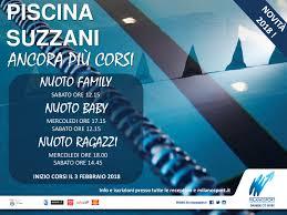 Piscina Suzzani Milano Orari Nuoto Libero