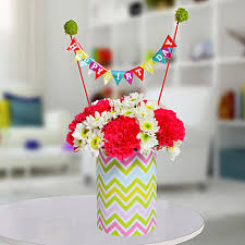special birthday vase arrangement birthday gifts for husband