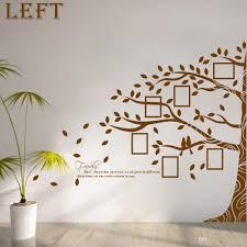 large vinyl family tree photo frames wall decal sticker vine