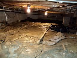 picture of crawlspace encapsulation