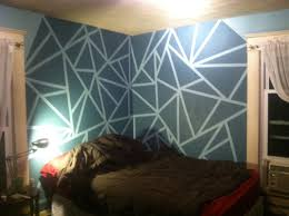 geometric wall paint beautiful modern stencils u