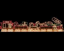 christmas rope lighting. 17u0027 rope light train christmas lighting