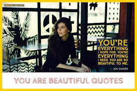 You Are Beautiful Quotes For Her Greeting Card Poet Extraordinary Beautiful Madam In Beautiful Garden Quotes
