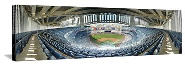 gallery image wrap canvas on yankees canvas wall art with yankee stadium panorama new york yankees frieze grandstand