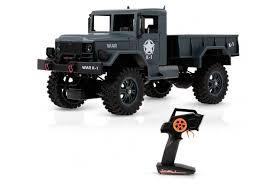<b>Радиоуправляемый внедорожник WL Toys</b> Army Truck 4WD RTR ...