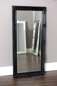 extravagant black wall mirror