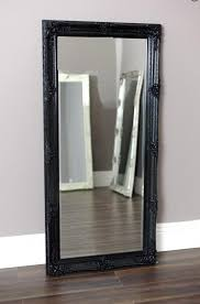 extravagant black wall mirror