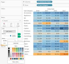 Tableau Bar Chart Border 3 Ways To Make Handsome Highlight Tables In Tableau
