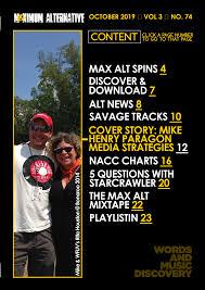 Maximum Alternative Issue 74 Mike Henry Of Paragon Media