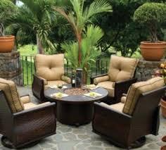trendy aluminum outdoor furniture in castelle fabrics