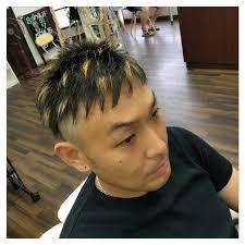 ヘアスタイルショート メッシュ 天童の理髪店 With ウィズ
