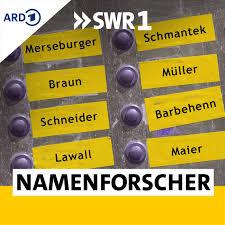 SWR1 Namenforscher