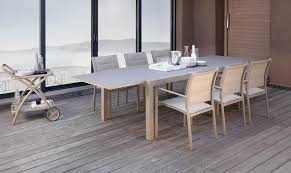 outdoor patio extendable table table chairs glass italian dining living room legs metal modern furniture