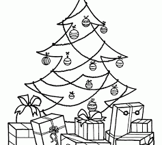 christmas tree with presents drawing. Plain Presents Christmas Tree With Gifts Drawing Presents Coloring  Pages Quotes Kids Crafts Unicorn Inside Christmas Tree With Presents Drawing N