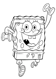 Training Spongebob Coloring Pages 2 Free Printable Coloring Pages