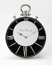 black white pocket watch wall clock roman numerals add