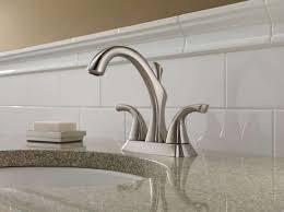 short bathroom sink backsplash