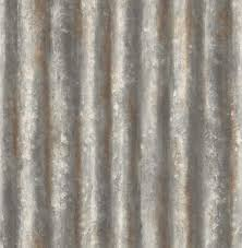 corrugated metal charcoal industrial texture 2701 22333 brewster wallpaper 2701 22333