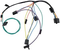 nova parts electrical and wiring wiring and connectors 1965 chevy ii nova air conditioning wiring harness