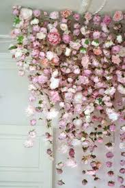 image from fl wall decor lovely backdrop of flowers hang from the ceiling 233