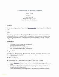 Data Entry Clerk Resume Resume Work Template
