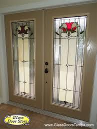 bellflower craftsman fiberglass door with colored accent