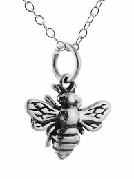 details about tiny honey bee necklace 925 sterling silver queen blebee charm pendant new