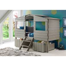 Bedding Mesmerizing Treehouse Loft Plans For Kids Elegant Tree House With Desk Decorating Make Your Own