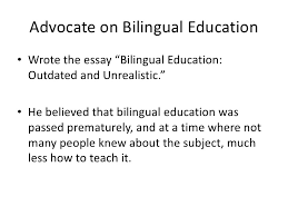 richard rodriguez  6 advocate on bilingual education<br