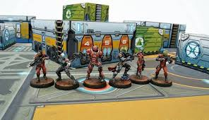 infinity game. miniatures game review: infinity