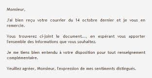 Lettre Type 10 Modeles De Lettres