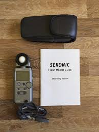 Used Sekonic L 358 Light Meter Sekonic L 358 Light Meter Mint Condition In