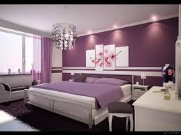 Modern Bedroom Painting Surprising Purple And Simple Bedrooms Decorations Ideas In New