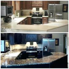 painting laminate countertops before and after before and after granite