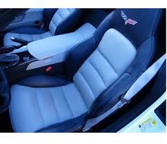 corvette c6 3lz seat back covers oem gm