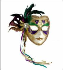 Mask Decoration Ideas Mardi Gras Party DANCING COWGIRL DESIGN 43