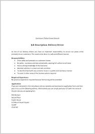 Mail Carrier Job Description Resume 155323 Job Description For
