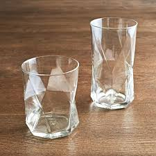 old fashioned drinking glasses engraved glassware set