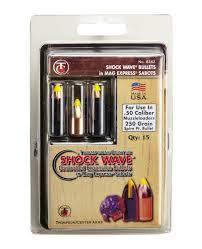 Tc Shockwave Ballistic Chart Hunting Thompson Center Shockwave Spire Point Polymer Tip Bullets 45 Cal Sabot 200 Gr 15 Ct
