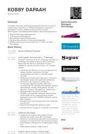 Senior Software Engineer Resume Samples Visualcv Sample Download