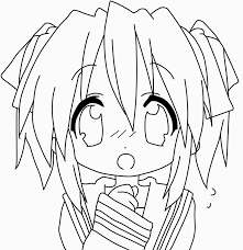 Printable Anime Coloring Pages 9 Chibi Anime Girl Coloring For Anime
